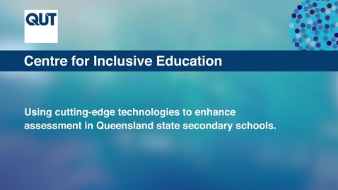 Thumbnail for entry Accessible Assessment Video